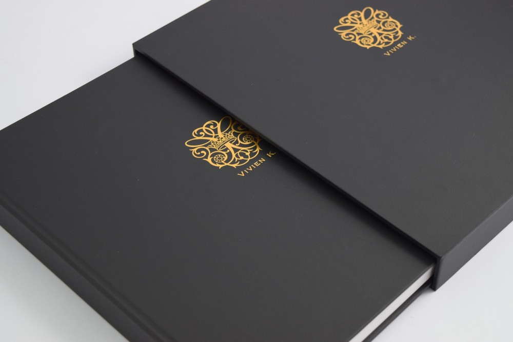 Luxury Slip Case with Gold Foiling