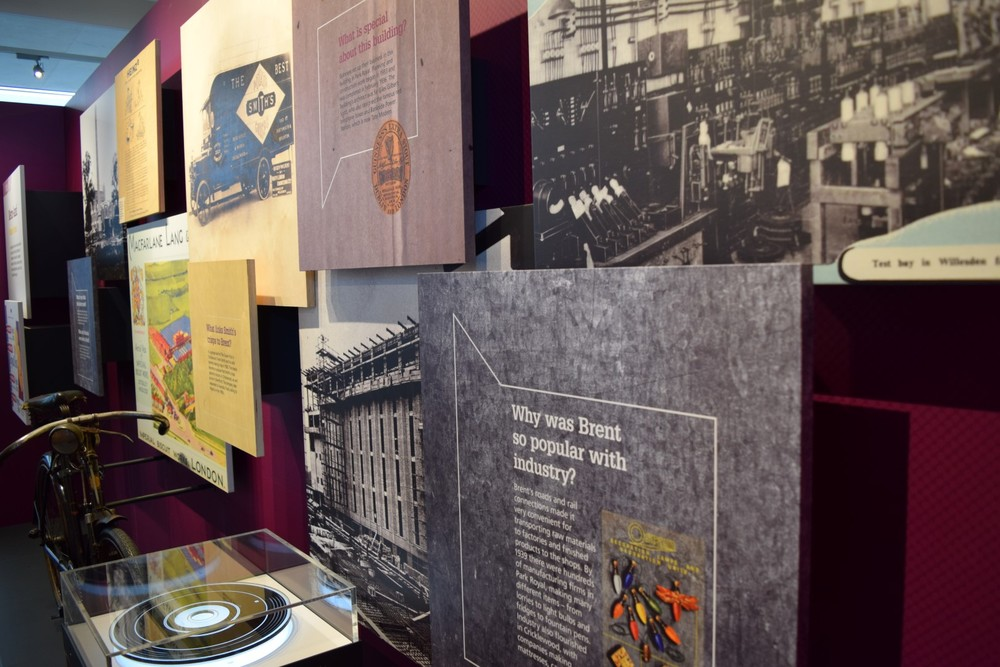 Direct-to-media printing for Brent Museum