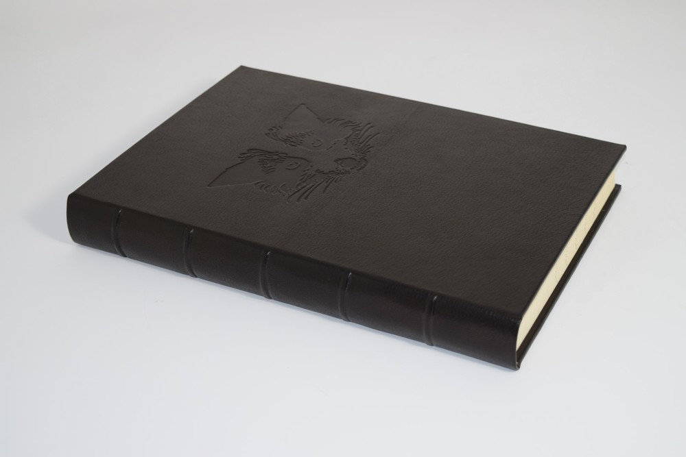 Leather-bound Ledger