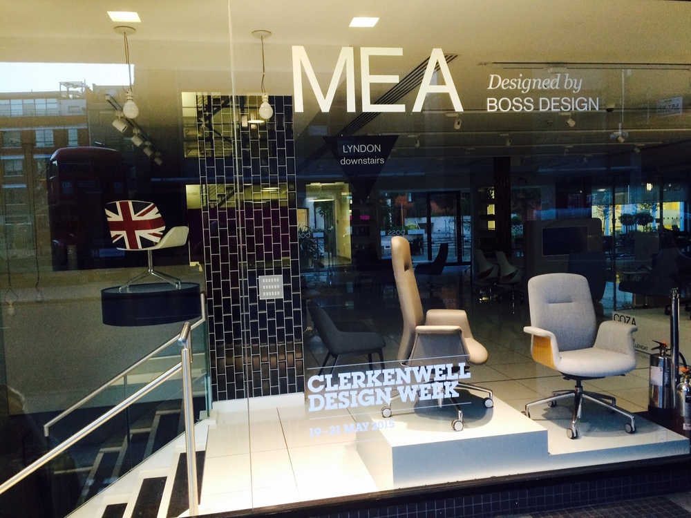 Clerkenwell Design Week - Window Manifestation