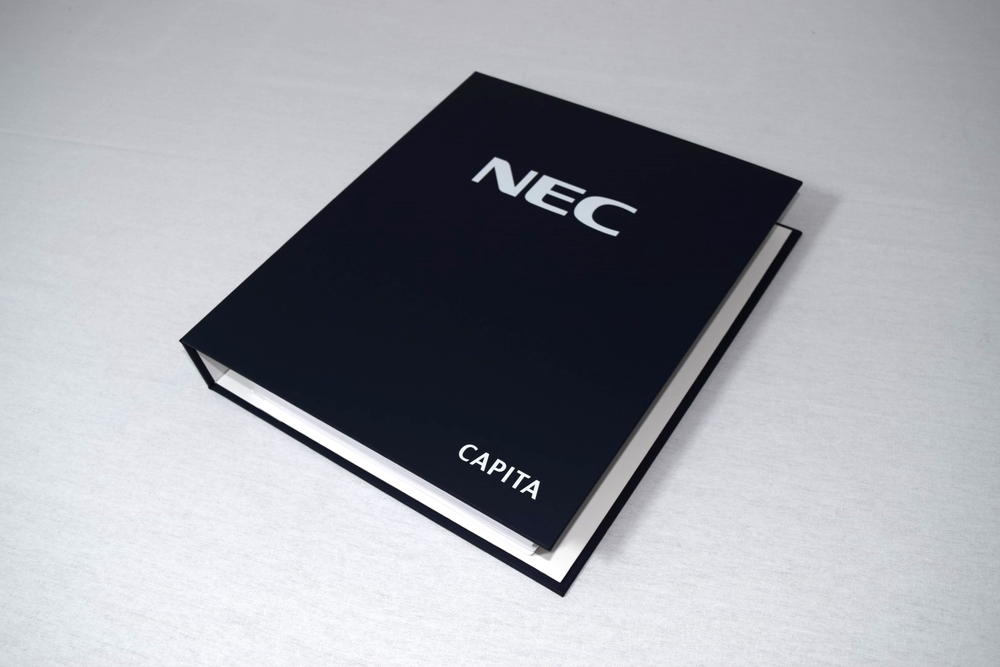 Wiro Bound Presentation Folder NEC