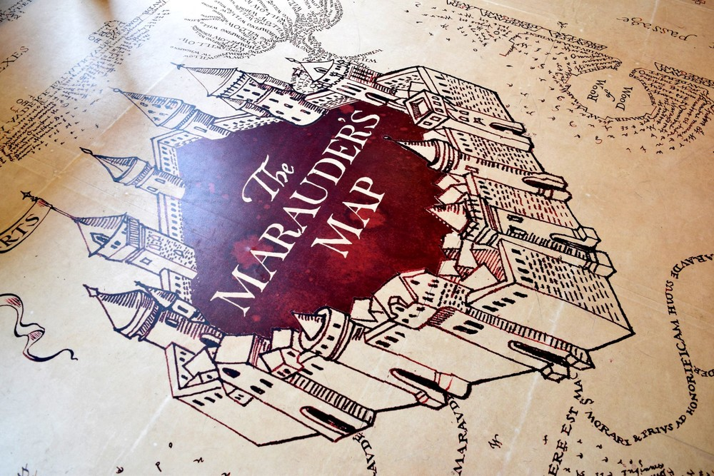 Marauder's Map Floor Vinyl Graphics