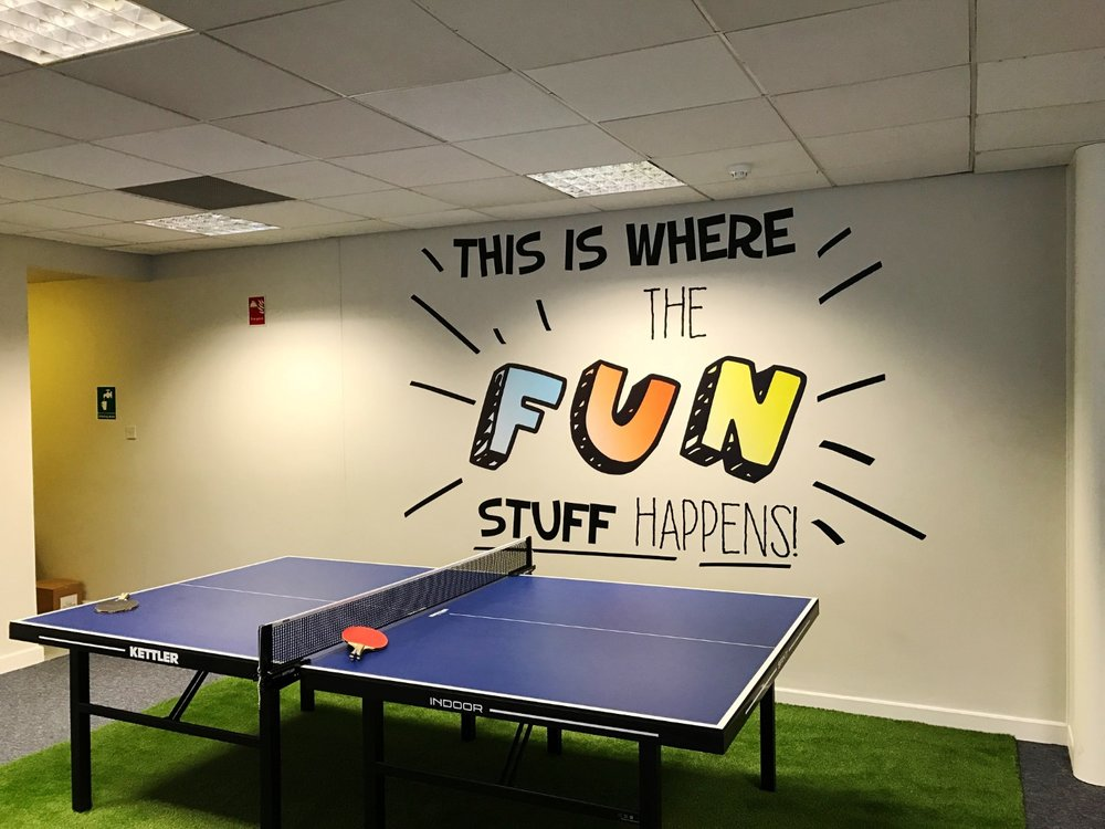 Fun office environments