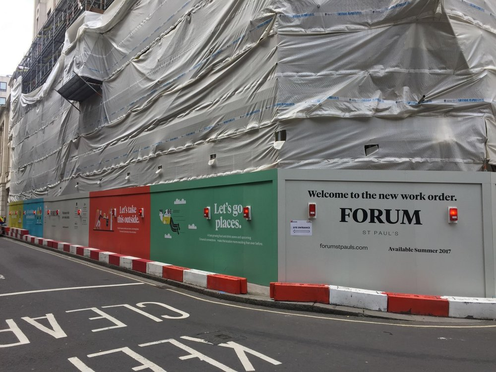 Construction Site Hoarding Printing
