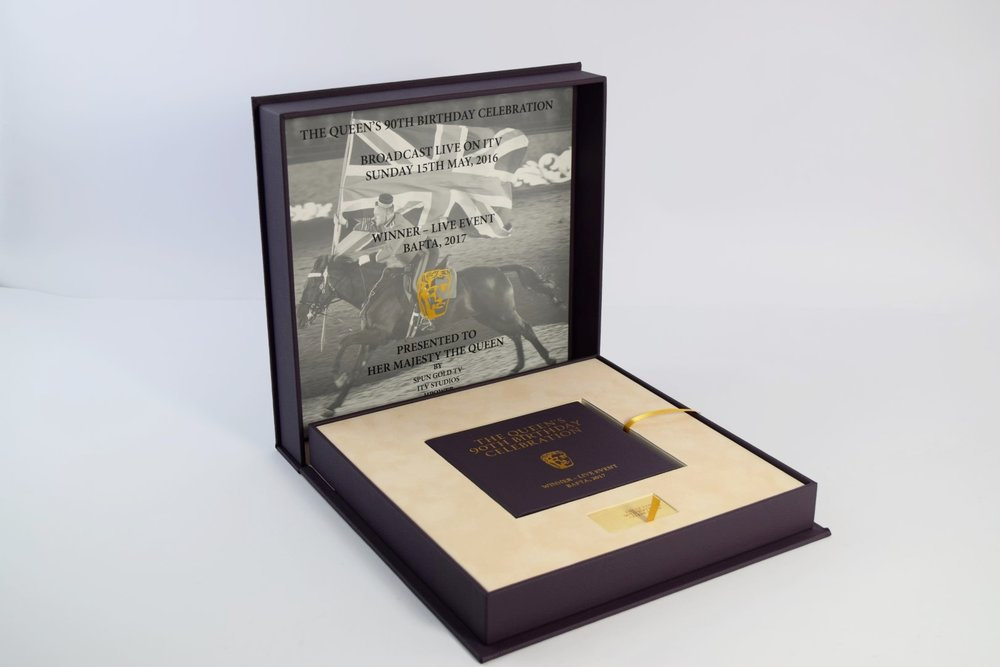Presentation Box Design - The Queen