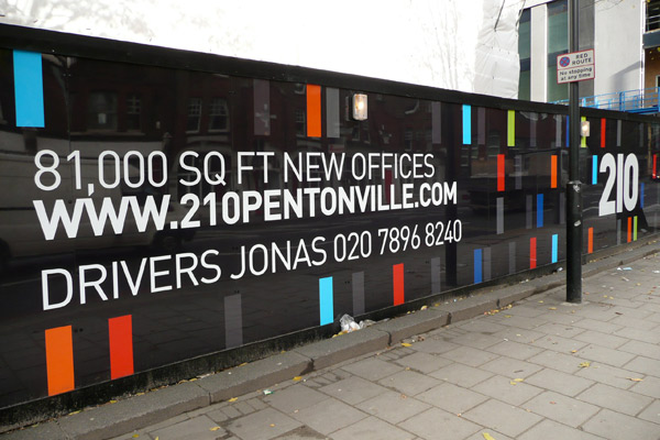 Hoarding Designs - Printing London