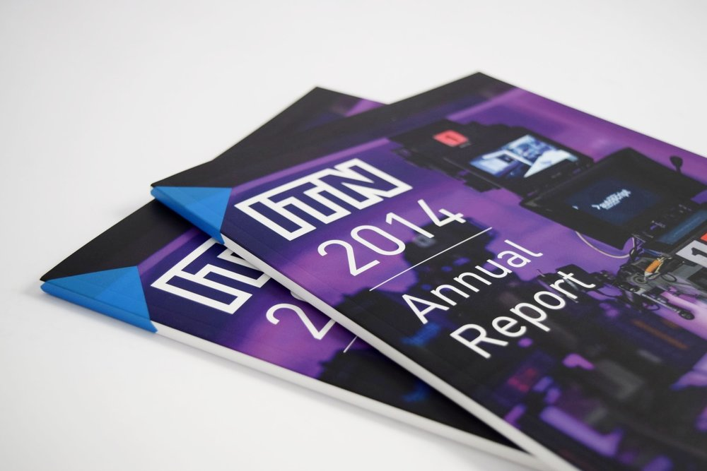 ITN Annual Report - Perfect Bound