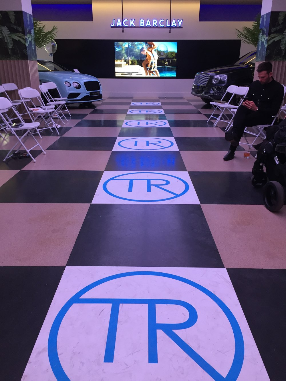 Floor Graphics Event Retail