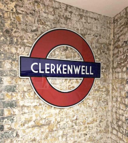 Dibond Signage - Clerkenwell