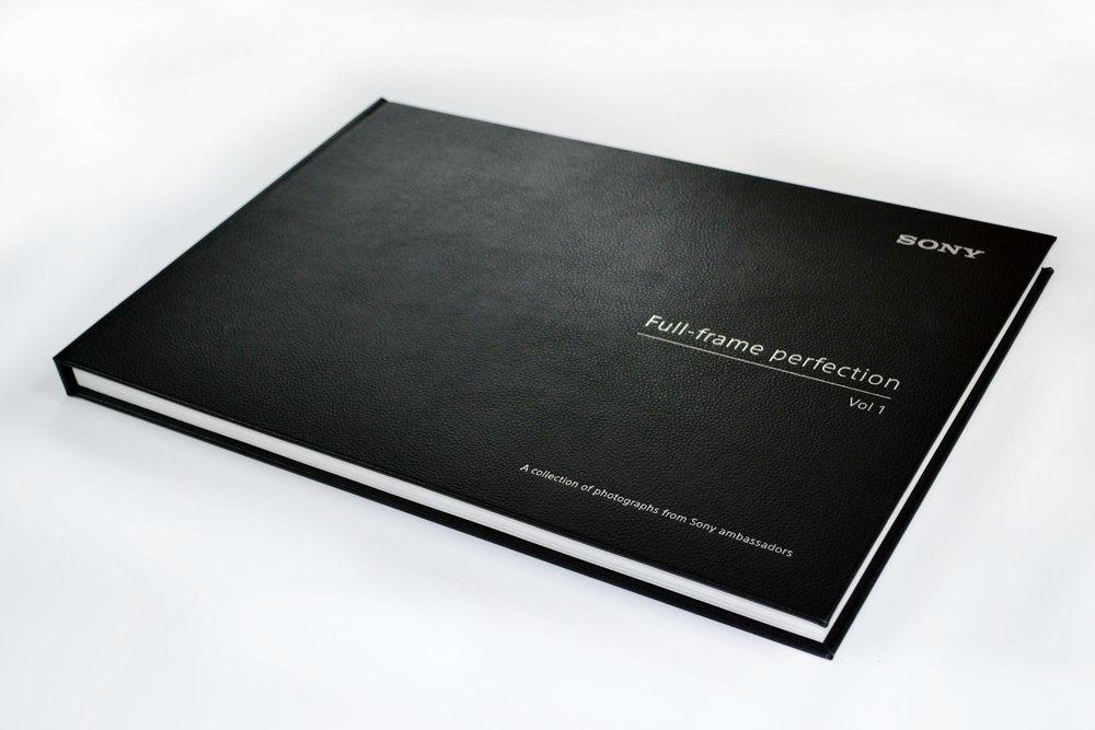 Casebound Book Custom Made Sony
