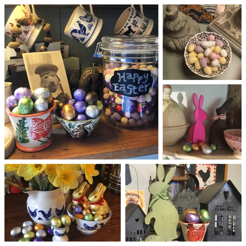 Easter Time at Camomile Cottage B & B & Chobbs Barn in lovely Rural Suffolk.