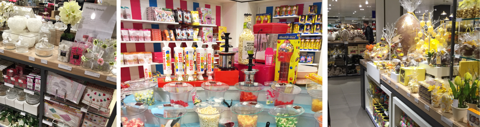 Competitive analysis in high street stores.  The beautiful displays make it easy to create a themed party - and hard to stick to a budget!