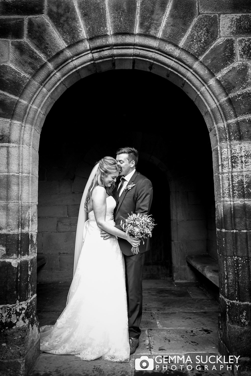 What if it rains on your wedding day gemma suckley photography bride and groom at east riddlesden hall junglespirit Image collections