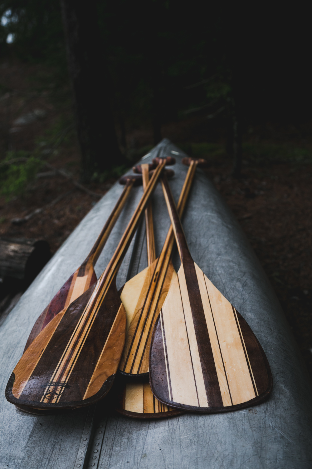 Resting Paddles