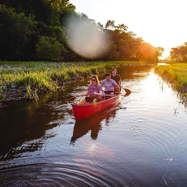 The sun was shining today and I could t help but think of sunny summer paddles with good friends! Who are you planning to #getoutside and #movewater with? #sigurdcanoeco