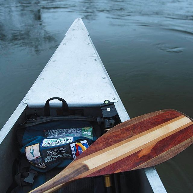 When the water is open - get out and paddle. Who else has a bad case of cabin fever? Best cure to that is a nice winter paddle. Who has plans to #getoutside and #movewater this weekend?