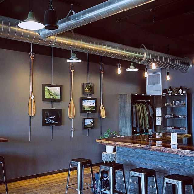 Super excited to have not only paddles but some of my photography gracing the walls of the @turtlestackbrewery tap room. Be sure to swing on down there and check them out if you're in the La Crosse area. They are just around the corner from the Sigurd shop downtown. #sigurdcanoeco #movewater #turtlestackbrewery #drinklocal #shoplocal #downtownmainstreet #explorelacrosse
