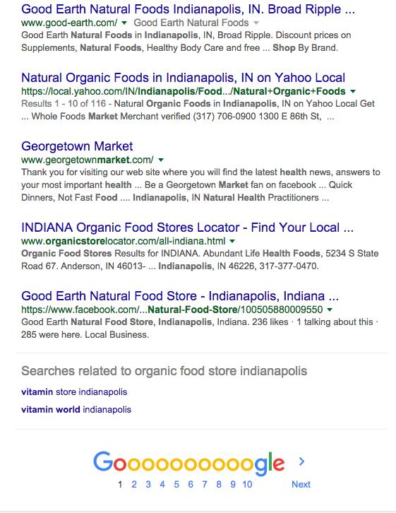 Good Earth Natural Food Co