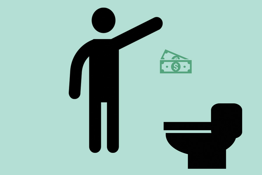 Stop Throwing Your Hard Earned Money Down The Toilet!