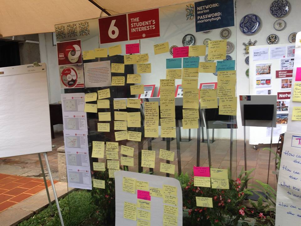 Visual facilitation as product of a Journey facilitation