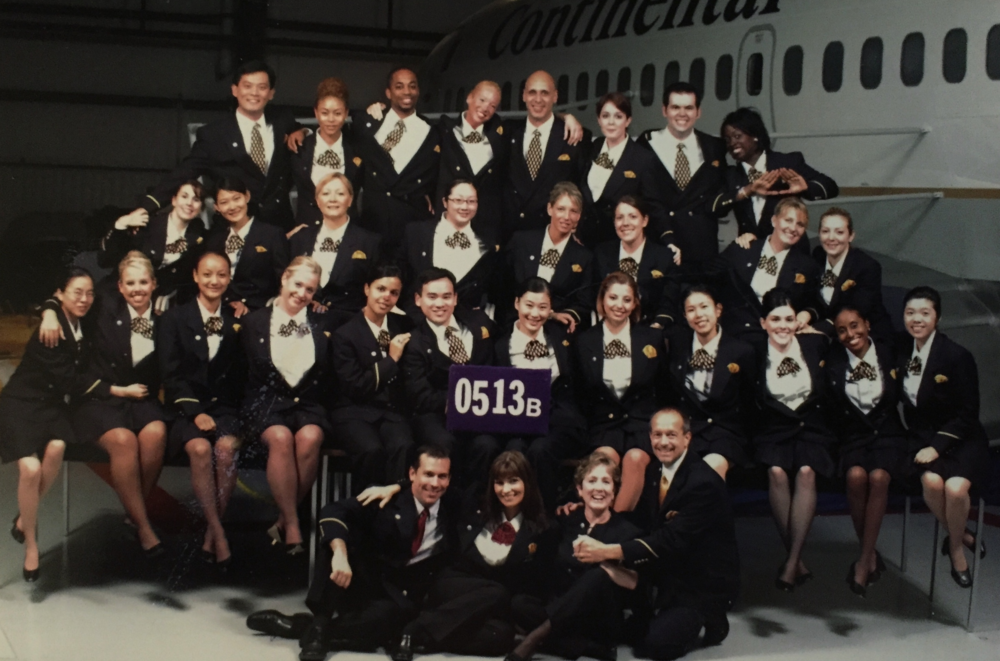 My flight attendant training class from 10 years ago!