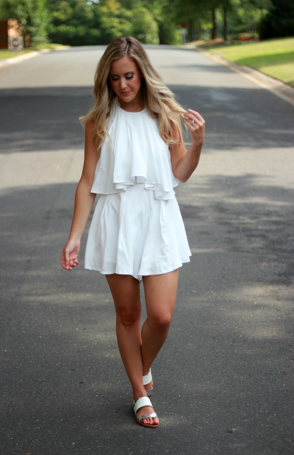 f13260dd332 Romper  Revolve Clothing (also comes in an adorable floral print)
