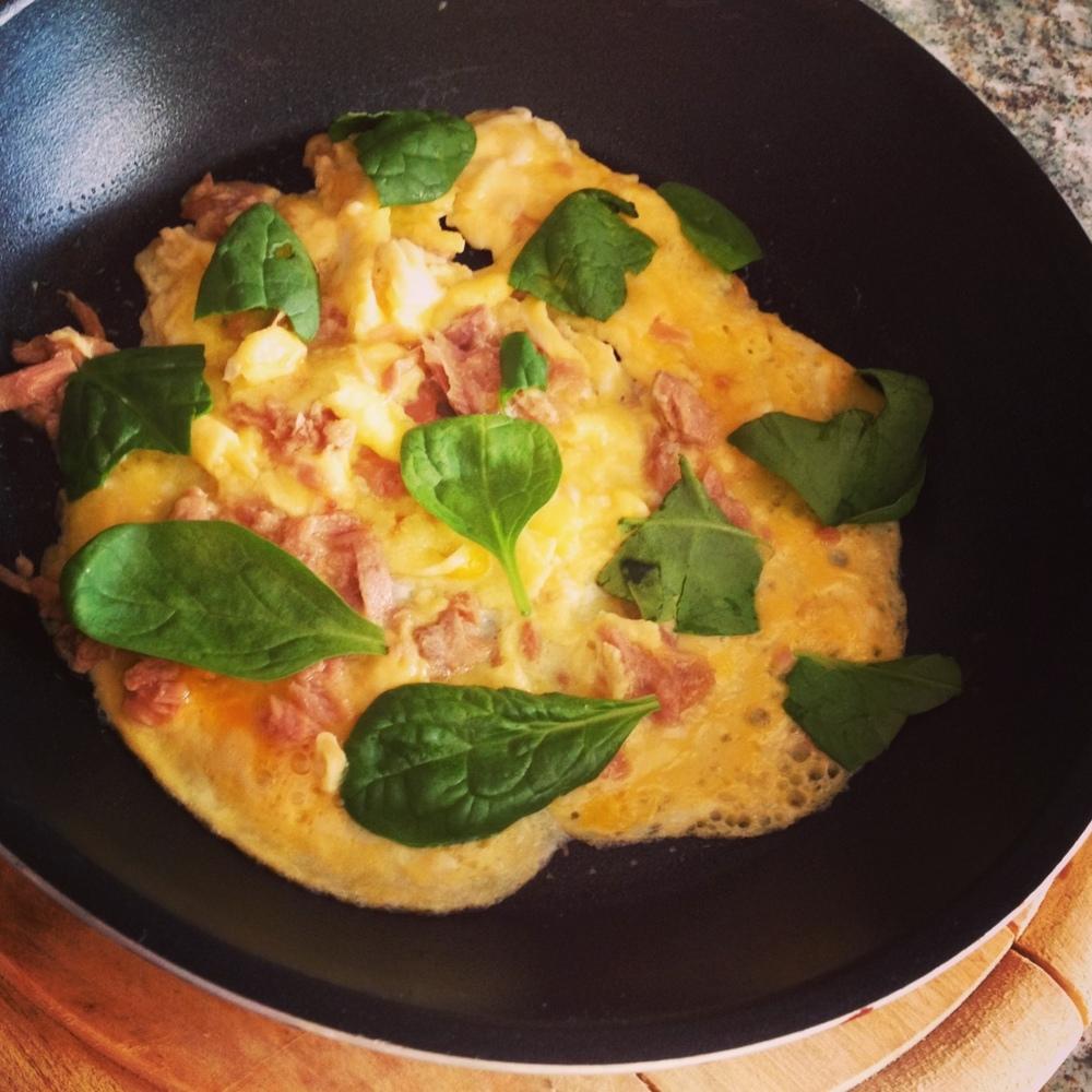 Omelette á la Katie