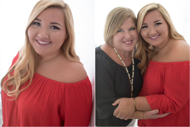 Backlit beauty and a beautiful portrait with mom!
