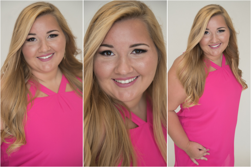 Love Abby's choice of bold colors in this session!