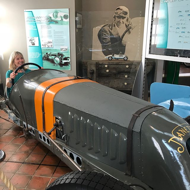 92 years after Felix Scriven built his car Nanette, and some 8 years after we put it back together. His Grand daughter finally gets behind the wheel at Brooklands. #brooklands #nanette #felixscriven #fairisle