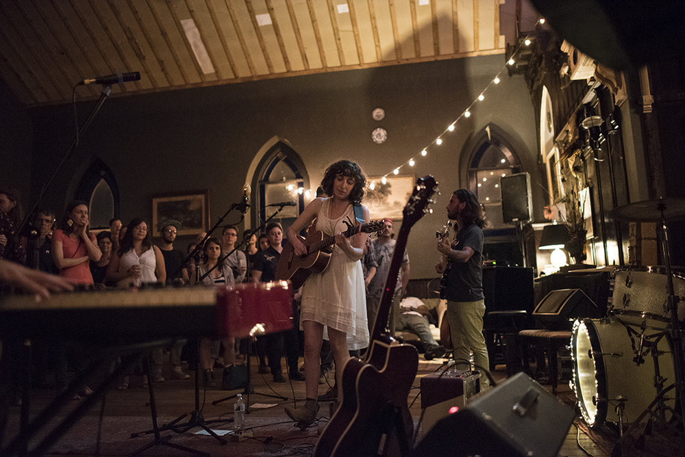 Sweet Saro performed their debut EP  at Church & Company on September 12, 2015.