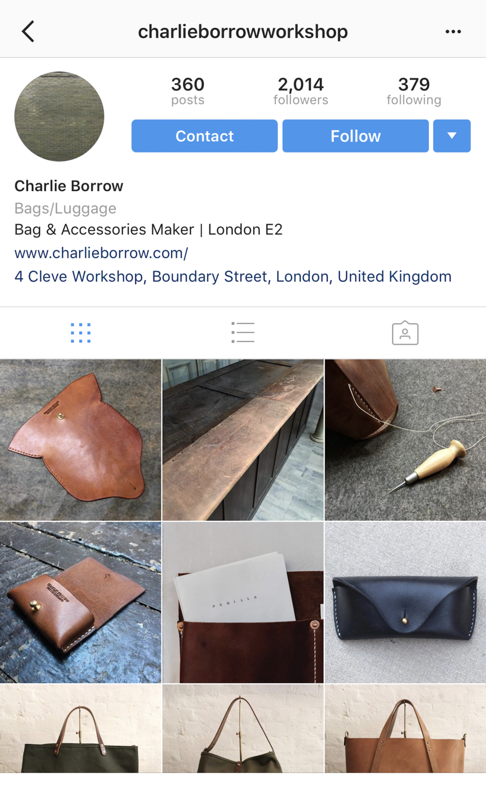 charlieborrowworkshop