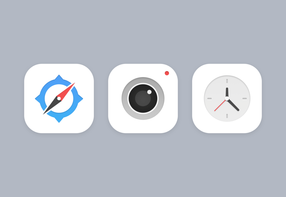 Some unused icons