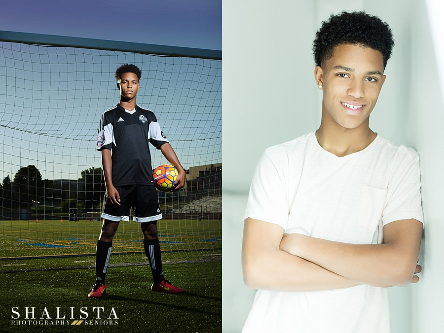 Soccer Senior Photos