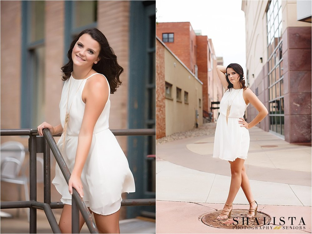 Downtown Sioux Falls senior photos