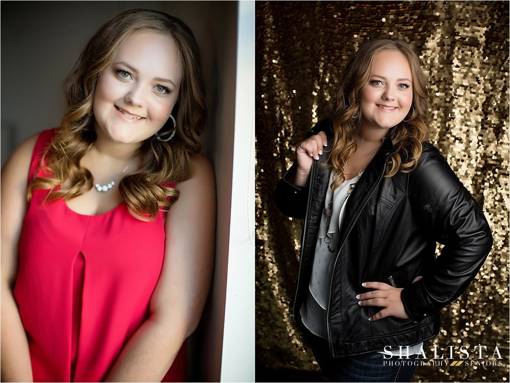Studio Senior Photos in SIoux Falls