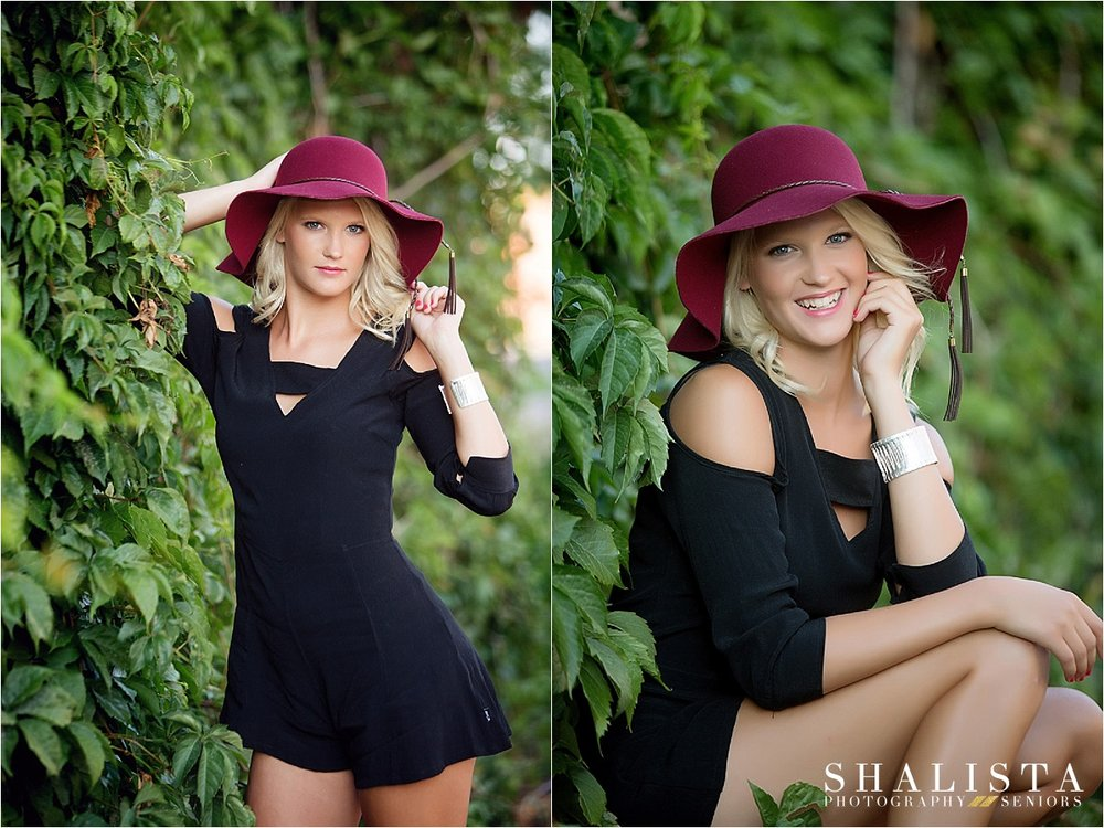 Shalista Photography Senior Girl in Hat
