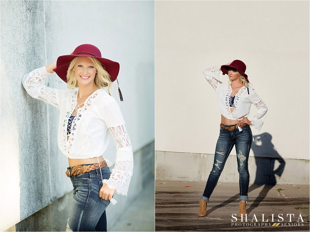 Shalista Photography Downtown Urban Senior