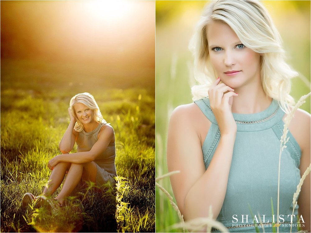 Sunset Sioux Falls Senior Portraits