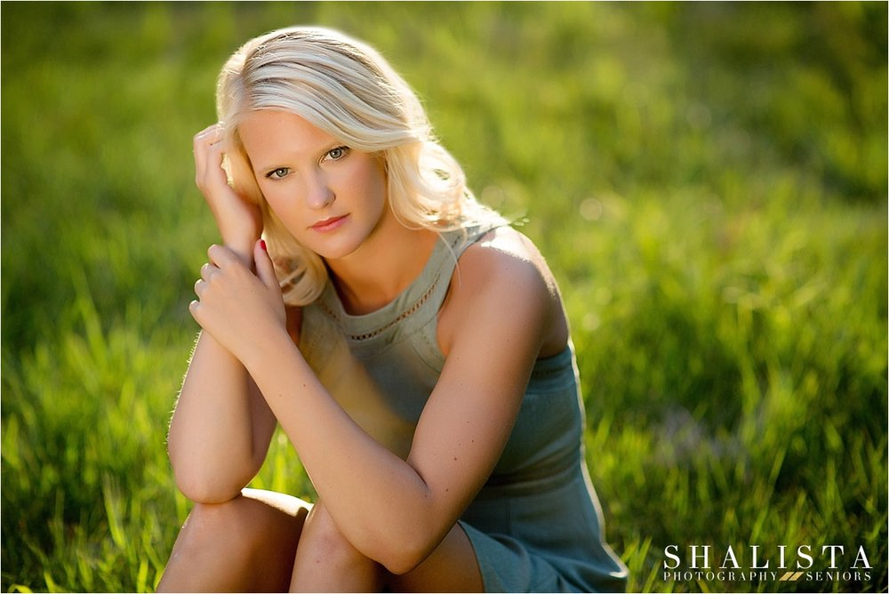 backlit Sioux Falls Senior Portraits
