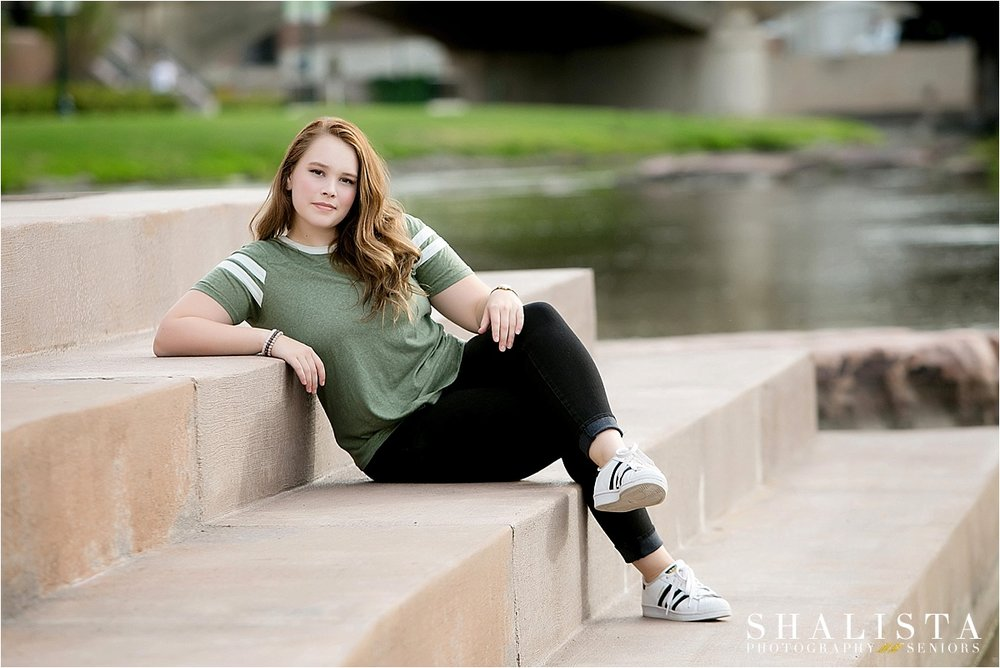 Senior Girl Sioux Falls outdoor photos