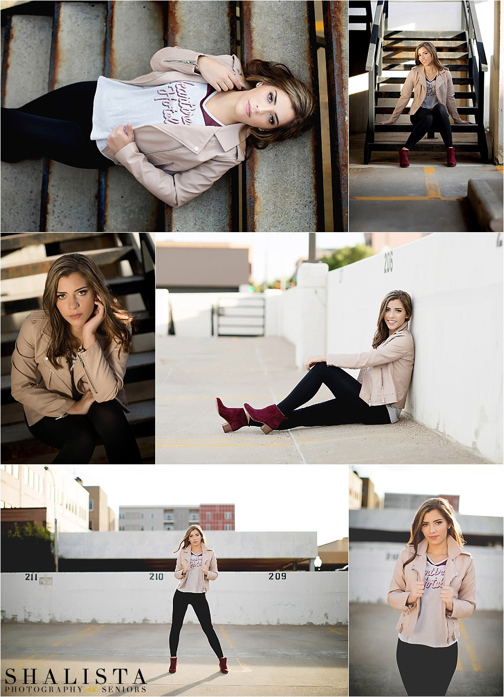 Urban Senior Portraits in Sioux Falls