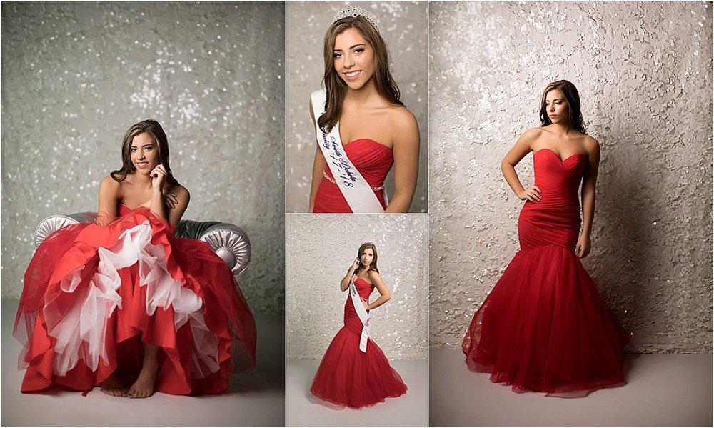 Shalista Photography - Senior girl in prom dress