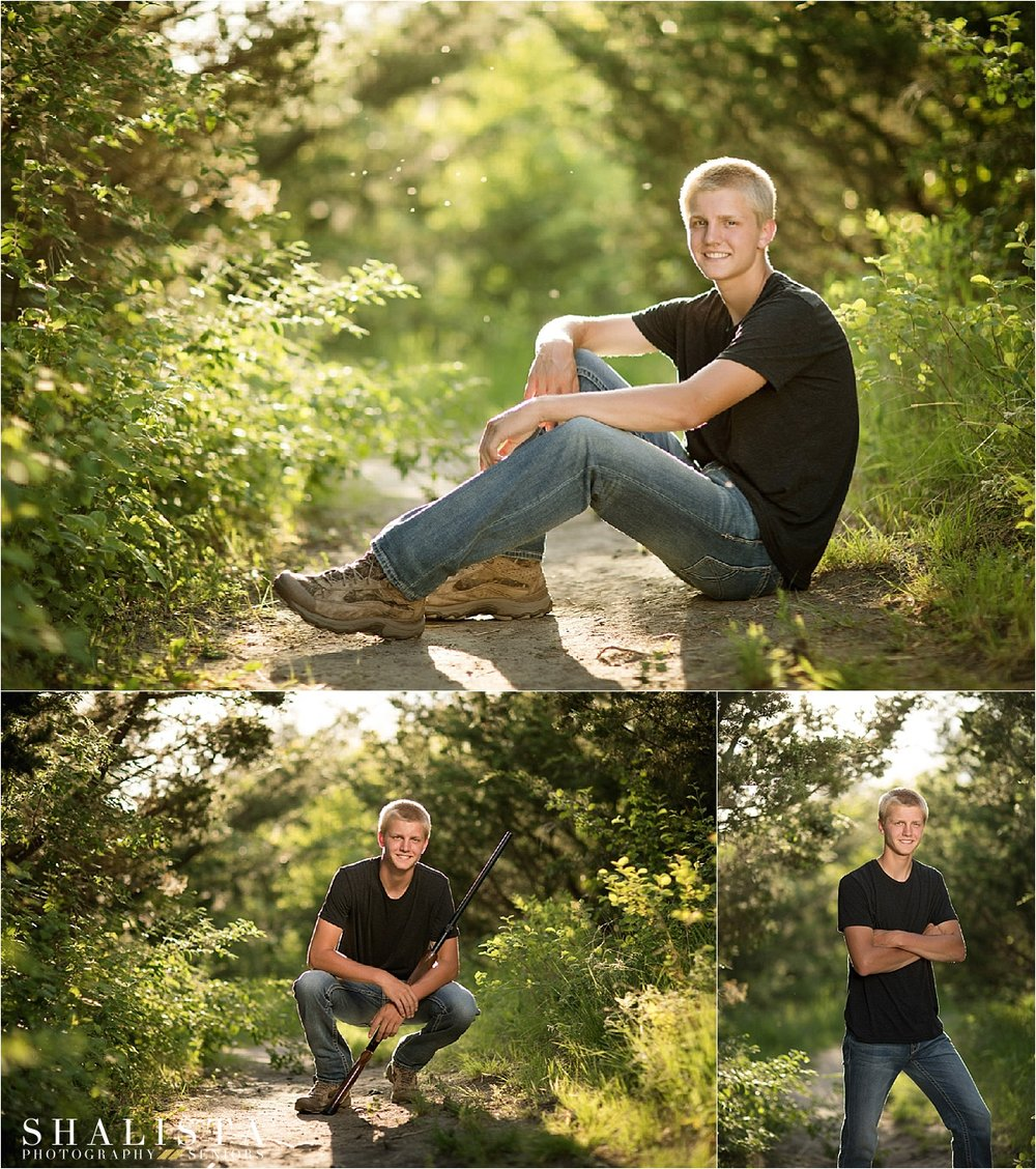 Shalista Photography - Sioux Falls Senior Photographer Outdoor Senior Boy photos