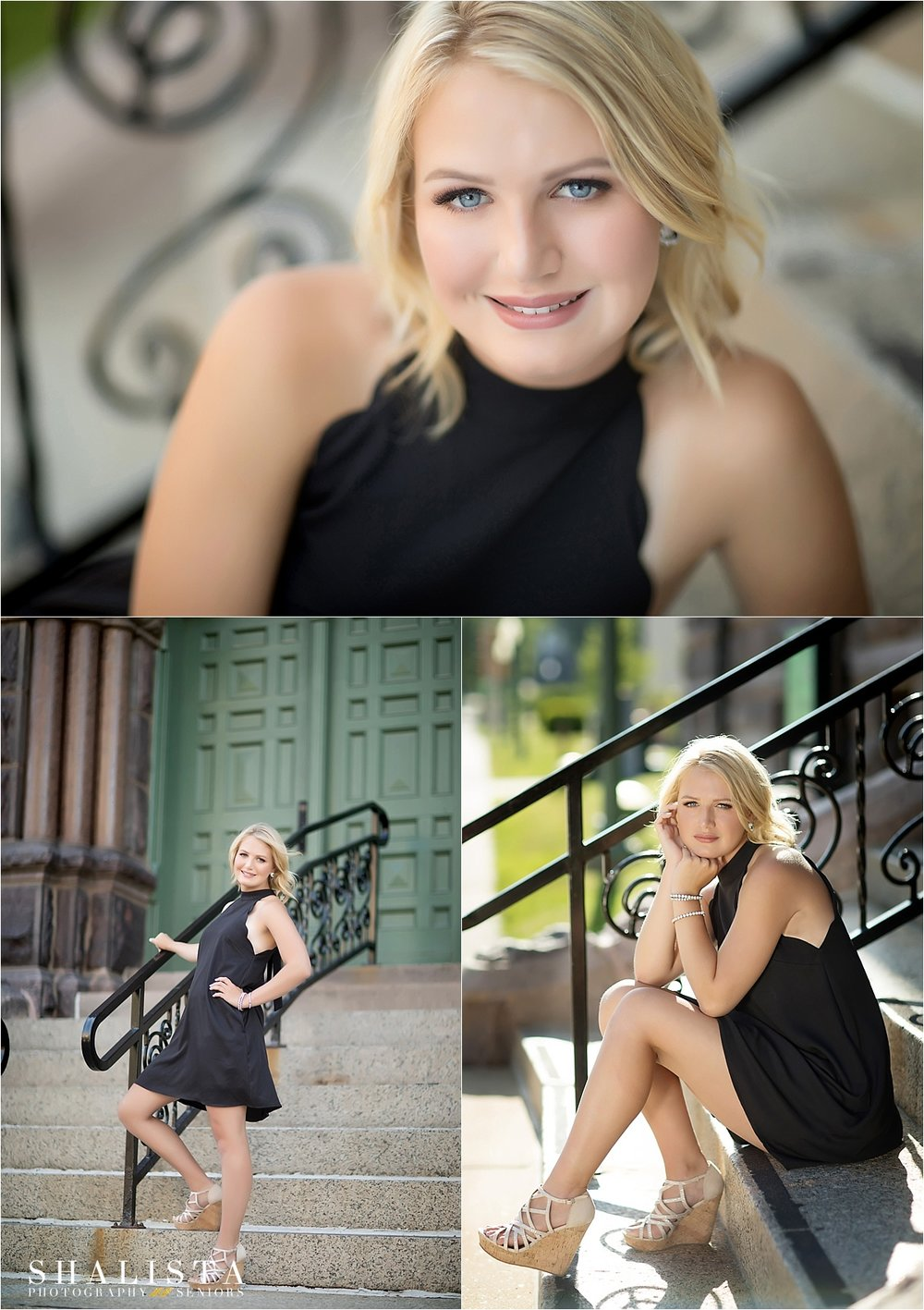 Little Black Dress Senior Pictures  |  Shalista Photography