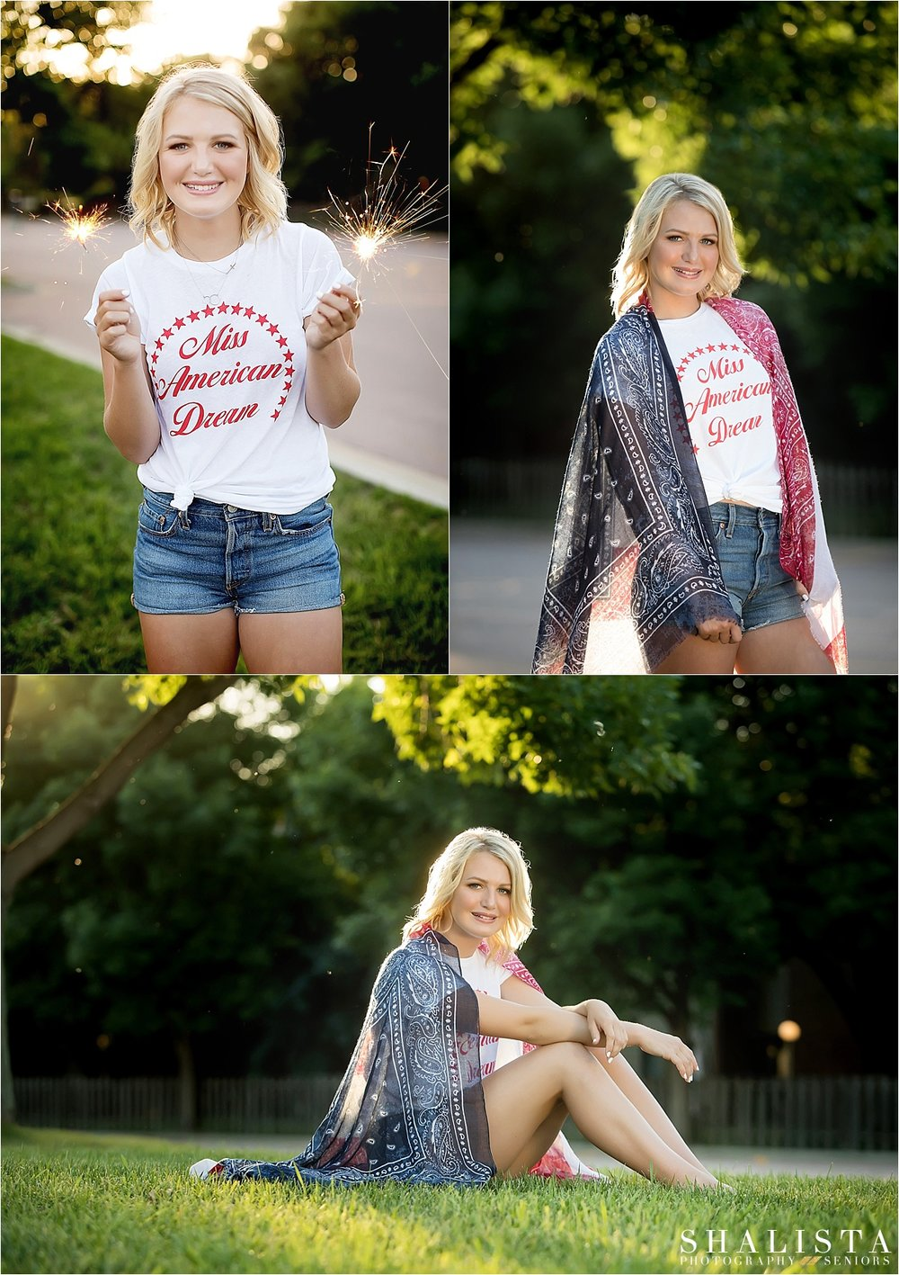 Forth of July Patriotic Theme | Shalista Seniors