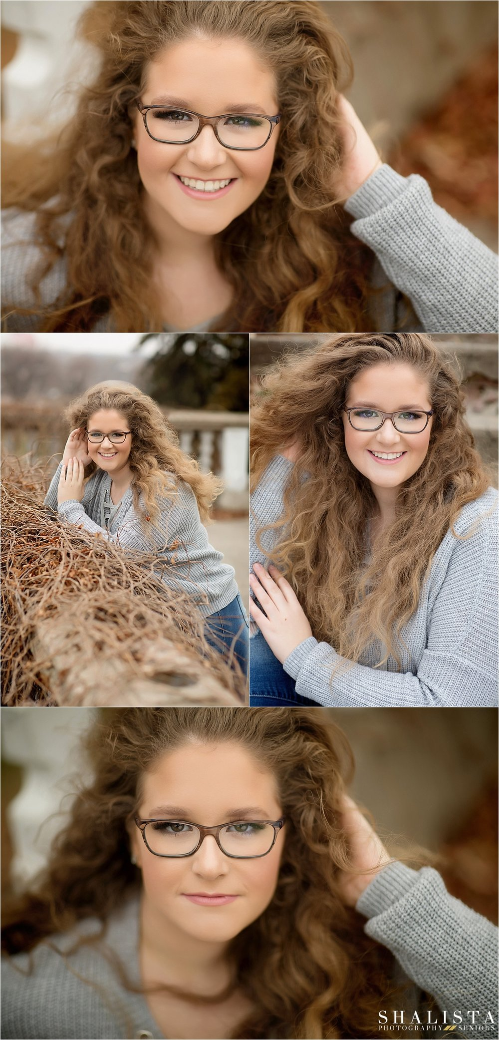 Senior girl fall images