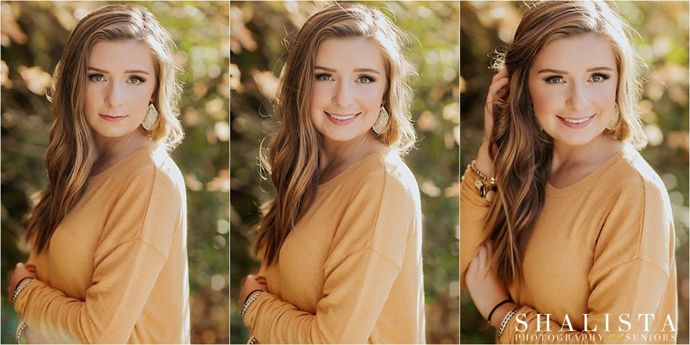 Senior girl headshots by Shalista
