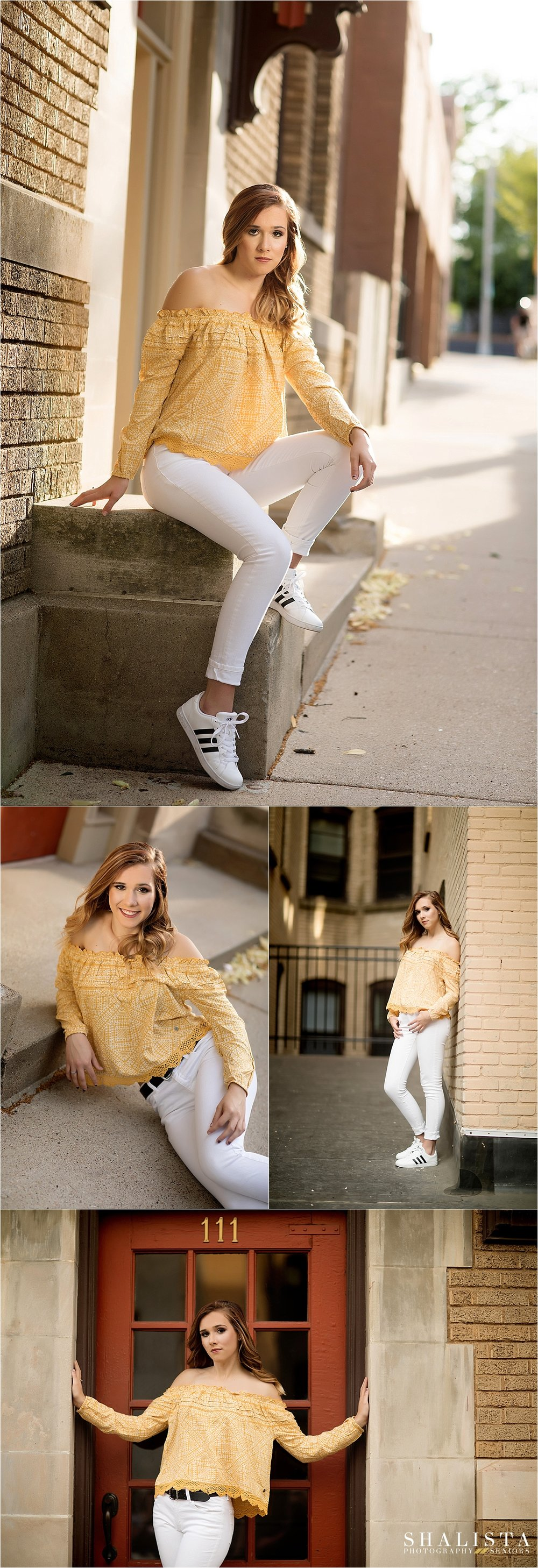 Downtown Sioux Falls Senior Portraits
