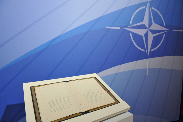 Signed in 1949, the Washington Treaty officially formed the NATO alliance. Photo from official NATO website.